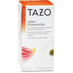 Tazo Herbal Tea - Herbal Tea - Calm Blend - 24 Filterbag - 24 / Box