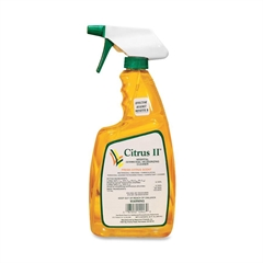 Citrus II Germicidal Cleaner - Spray - 0.17 gal (22 fl oz) - Citrus Scent - 1 Each