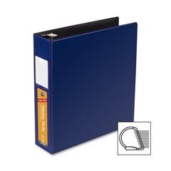 "Wilson Jones Heavy Duty DublLock D-Ring Binder - 2"" Binder Capacity - Letter - 8 1/2"" x 11"" Sheet Size - 480 Sheet Capacity - 3 x D-Ring Fastener(s) - Dark Blue - 1 Each"