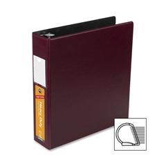 "Wilson Jones Heavy Duty DublLock D-Ring Binder - 2"" Binder Capacity - Letter - 8 1/2"" x 11"" Sheet Size - 480 Sheet Capacity - 3 x D-Ring Fastener(s) - Burgundy - 1 Each"