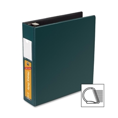 "Wilson Jones Heavy Duty DublLock D-Ring Binder - 2"" Binder Capacity - Letter - 8.50"" x 11"" Sheet Size - 480 Sheet Capacity - 3 x D-Ring Fastener(s) - Green - Recycled - 1 Each"