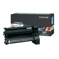 Lexmark Original Toner Cartridge - Laser - Cyan - 1 Each