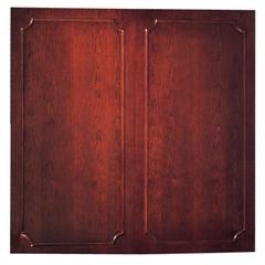 "Toscana Veneer Cabinet - 48"" Height x 48"" Width - Mahogany Surface - 1 Each"