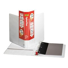 "SpineVue EasyOpen Locking Slant-D Ring Binder - 1"" Binder Capacity - Letter - 8 1/2"" x 11"" Sheet Size - 225 Sheet Capacity - 3 x D-Ring Fastener(s) - 2 Inside Front & Back Pocket(s) - Vinyl -"