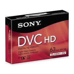 Sony DVC HD Videocassette - DVC - 1.05 Hour