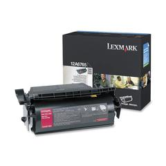 Lexmark Black Toner Cartridge - Laser - 30000 Pages - 1 Each