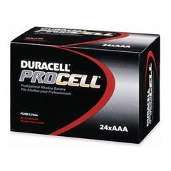 Duracell Multipurpose Battery - AAA - Manganese Dioxide (MnO2) - 1.5 V DC - 24 / Box