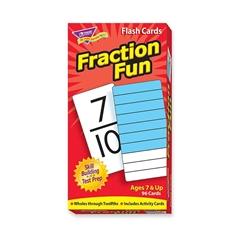 Fraction Fun Flash Card - Educational