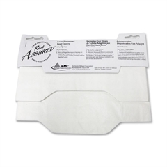 RMC Lever Dispensed Toilet Seat Cover - Half-fold - 125 / Pack - White