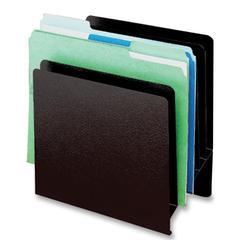 "Classic Slant Desktop File Organizer - 6 Pocket(s) - 10.5"" Height x 9.9"" Width x 5.3"" Depth - Desktop - Black - Steel - 1Each"