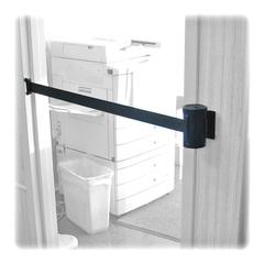 Tatco Adjusta-Tape Wall Mount Kit - 15 ft Long Black Metal