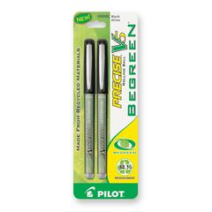 V5 Rollerball Pen - Extra Fine Point Type - 0.5 mm Point Size - Needle Point Style - Refillable - Black - 2 / Pack