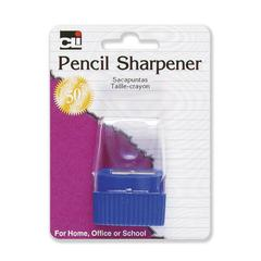 CLI Cone Receptacle Pencil Sharpener - Plastic - Assorted