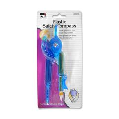 CLI Safety Point Compass - Plastic - Transparent Green