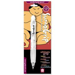 Sakura of America Sumo Grip Mechanical Pencil - 0.9 mm Lead Diameter - Refillable - Clear Barrel - 1 Pack