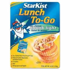 StarKist Starkist Lunch To-Go Tuna Kit - Low Calorie - 1 - 4.50 oz - 12 / Carton