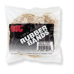 Assorted Size Rubber Band - 1 / Bag - Natural