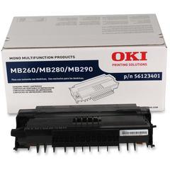 Oki Original Toner Cartridge - LED - 3000 Pages - Black - 1 Each