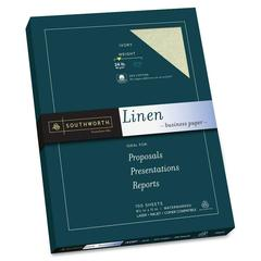 """P564CK Fine Art Paper - Letter - 8.50"""" x 11"""" - 24 lb Basis Weight - Recycled - 55% Recycled Content - Linen - 100 / Box - Ivory"""