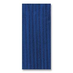 """ChenilleKraft Jumbo Assorted Chenille Stems - 236.2 mil x 12"""" - 100 / Pack - Blue - Polyester"""
