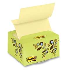 "Post-it Desk Grip Dispenser - 3"" x 3"" - Holds 200 Sheet of Note - Assorted"