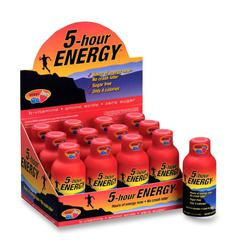5-Hour Energy 5 Hour Energy Berry Energy Drink - Berry Flavor - 2 fl oz (59 mL) - 12 / Pack
