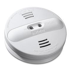 Kidde Fire Dual-sensor Smoke Alarm - 9 V DC - 85 dB - Audible, Visual - White