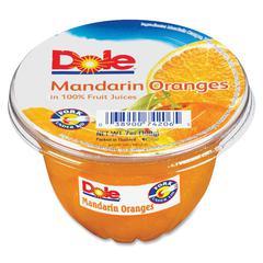 Dole Fruit Cup - Mandarin Orange - 5 lb - 12 / Carton
