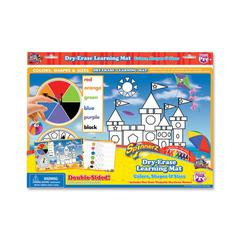 SpinnerZ Dry-erase Learning Mat - Theme/Subject: Learning - Skill Learning: Color, Shape, Writing