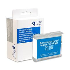 Elite Image Remanufactured Inkjet Cartridge Alternative For Brother LC51BK - Inkjet - 500 Page - 1 Each