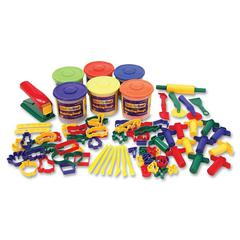 ChenilleKraft Classic 84pc Playdough and Tool Set - 84 Piece(s) - 84 / Set - Assorted