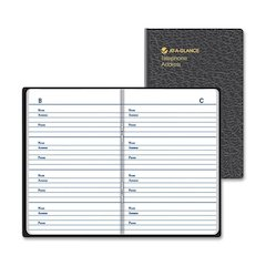 At-A-Glance Compact Design Telephoneaddress Book - Book Bound - 1 Each