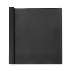 """Business Source Report Cover - 1/2"""" Folder Capacity - Letter - 8 1/2"""" x 11"""" Sheet Size - 100 Sheet Capacity - 3 x Prong Fastener(s) - Black - 25 / Box"""