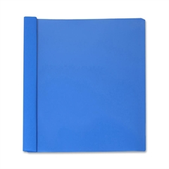 """Business Source Report Cover - 1/2"""" Folder Capacity - Letter - 8 1/2"""" x 11"""" Sheet Size - 100 Sheet Capacity - 3 x Prong Fastener(s) - Light Blue - 25 / Box"""