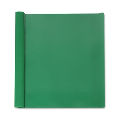 """Business Source Report Cover - 1/2"""" Folder Capacity - Letter - 8 1/2"""" x 11"""" Sheet Size - 100 Sheet Capacity - 3 x Prong Fastener(s) - Paper - Green - 25 / Box"""