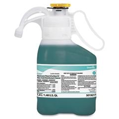 Diversey Crew Floor Cleaner - Liquid Solution - 0.37 gal (47.34 fl oz) - Fresh Scent - 1 Each - Green
