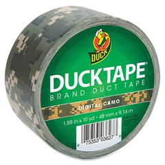 "Duck Printed Duct Tape - 1.88"" Width x 30 ft Length - 1 / Roll - Camo"