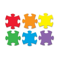 Classic Accents Jigsaw Puzzle - Theme/Subject: Learning - Skill Learning: Writing, Alphabet, Patterning, Sorting - 36 Pieces