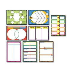 "Carson-Dellosa Graphics Bulletin Board Set - 0.08"" Height x 20"" Width x 29.50"" Length - Multicolor - 1 Pack"