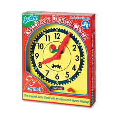 Judy Digital Clock Clock - Theme/Subject: Learning - Skill Learning: Time, Mathematics - 1 Pieces