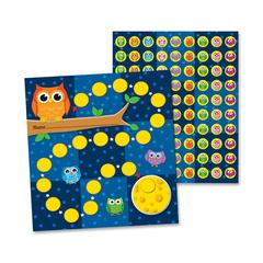 """Student Progress Incentive Chart and Sticker - 0.19"""" Height x 7.50"""" Width x 4.75"""" Length - Multicolor - 30 / Pack"""