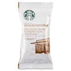 Starbucks Pike Place Roast Coffee - Cocoa, Nut - Medium - 2.5 oz Per Box - 18 Packet - 18 / Box