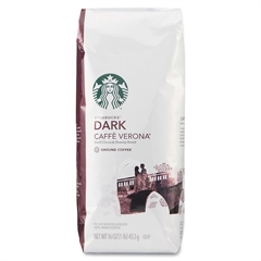 Starbucks 1lb Dark Caffé Verona Ground Coffee Ground - Regular - Caffé Verona - Dark/Bold - 16 oz - 1 Each