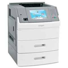 MS812DN Laser Printer - Monochrome - 1200 x 1200 dpi Print - Plain Paper Print - Desktop - 70 ppm Mono Print - 650 sheets Input - Automatic Duplex Print - LCD - Gigabit Ethernet - USB