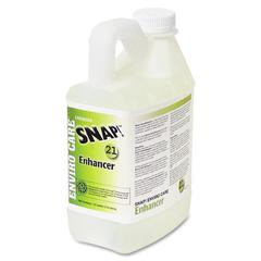 RMC Snap! Enviro Care Floor Enhancr - Liquid - 0.50 gal (64 fl oz) - 4 / Carton - Clear