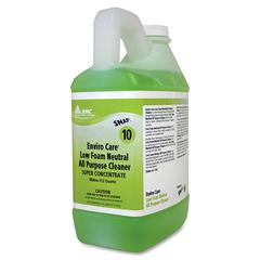 RMC SNAP! Enviro Care Low Foam Neutral All Purpose Cleaner - Liquid - 0.50 gal (64 fl oz) - 4 / Carton - Dark Green