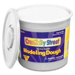 ChenilleKraft 3lb Tub Modeling Dough - 1 Each - White