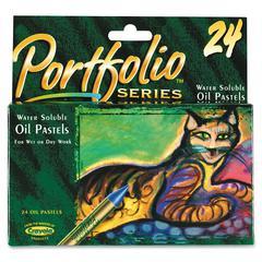 Crayola Portfolio Series Oil Pastel - Assorted - 24 / Box
