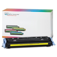 Media Sciences Media Sciences 39829/30/31/32 Toner Cartridges - Yellow - Laser - 2000 Page - 1 Each