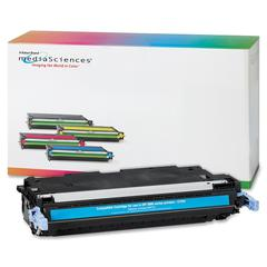 Media Sciences Toner Cartridge - Alternative for HP (503A) - Laser - 6000 Pages - Cyan - 1 Each